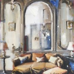 Hanna Ruminski - Parisian Apartment in Yellow Ochre