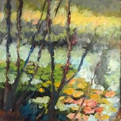 Masood Omer - Springtime Pond