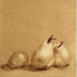 Maria  Josenhans - Three Seckle Pears