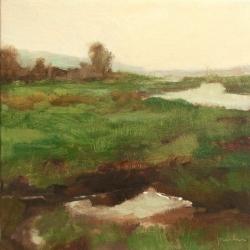 Maria  Josenhans - Morning in the Meadow