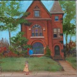 Michael Harris - Sidewalk Scene
