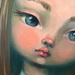 Kate Domina - Blushing with Blue Eyes