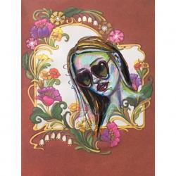 Emily Kearsley - Vintage Greeting Card Painting 3
