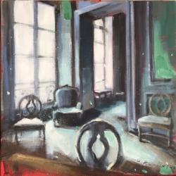 Hanna Ruminski - Parisian Apartment with Four Chairs