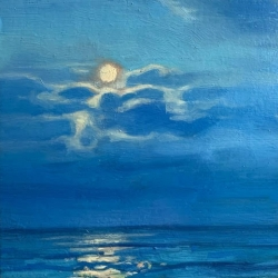 Elzbieta Krawecka - Blue Moon
