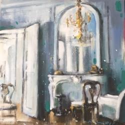 Hanna Ruminski - Parisian Apartment in Greyish Blue