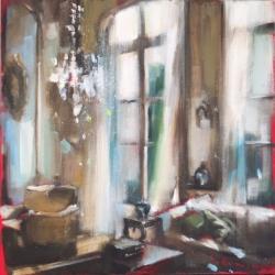 Hanna Ruminski - Parisian Apartment with Large Windows
