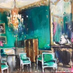 Hanna Ruminski - Interior in Emerald