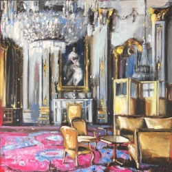 Hanna Ruminski - Royal Apartment in Gold and Rose
