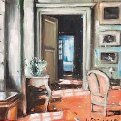 Hanna Ruminski - Interior in Terracotta