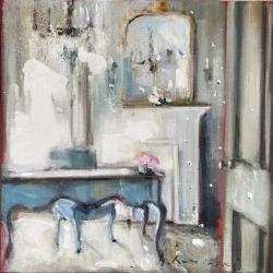 Hanna Ruminski - Parisian Apartment in Blue-Grey