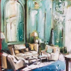 Hanna Ruminski -  Parisian Apartment in Green III