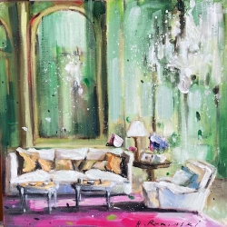Hanna Ruminski -  Parisian Apartment in Green II