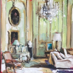 Hanna Ruminski -  Parisian Apartment in Green I