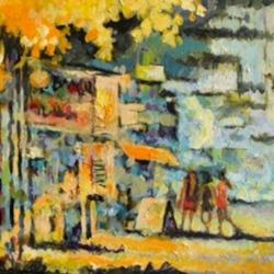 Masood Omer - Autumn on Bloor