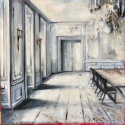 Hanna Ruminski - Parisian Apartment in Black and White I