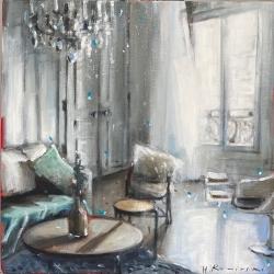 Hanna Ruminski - Parisian Apartment with Tulip Chair