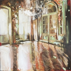 Hanna Ruminski - Chateau Interior in Gold