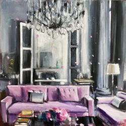 Hanna Ruminski - Parisian Apartment in Grey and Pink