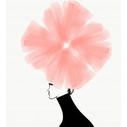 Annie  Naranian  - Fleur Chiffon Chapeau
