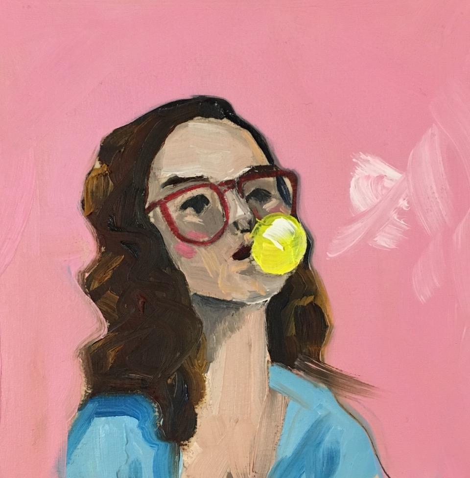 Bubblegum Kathryn by Frances  Hahn