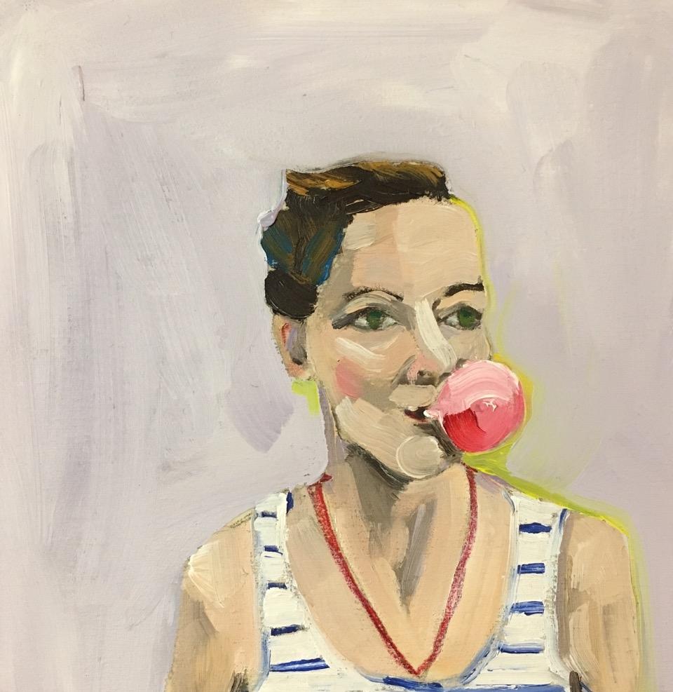 Bubblegum Victoria by Frances  Hahn