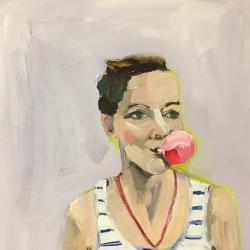 Frances  Hahn - Bubblegum Victoria
