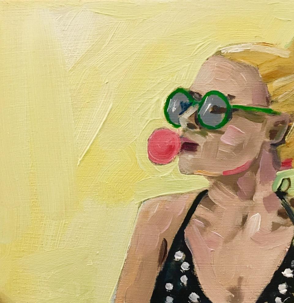 Bubbelgum Laurel by Frances  Hahn