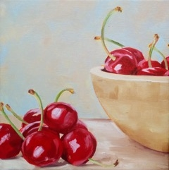 Cherries by Emily Bickell