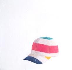 Striped Cap by EM Vincent