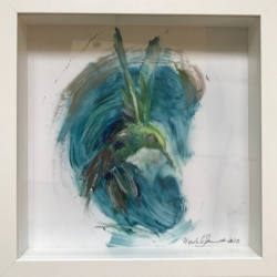 Madeleine Lamont - Hummingbird Small (framed)