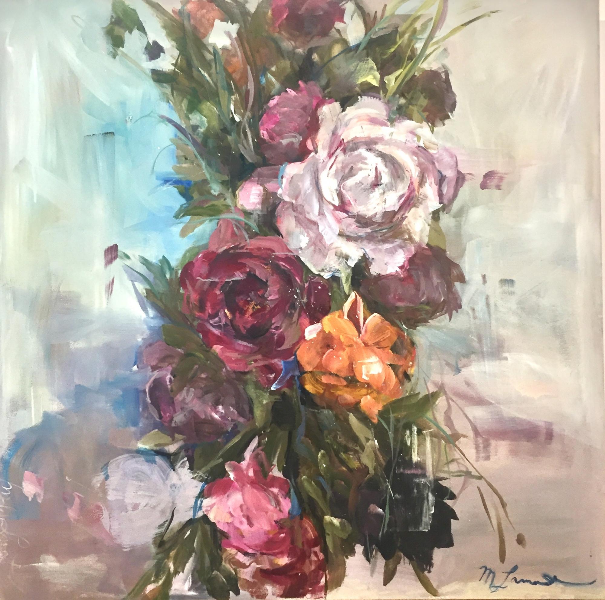 Grey Garland 2 by Madeleine Lamont