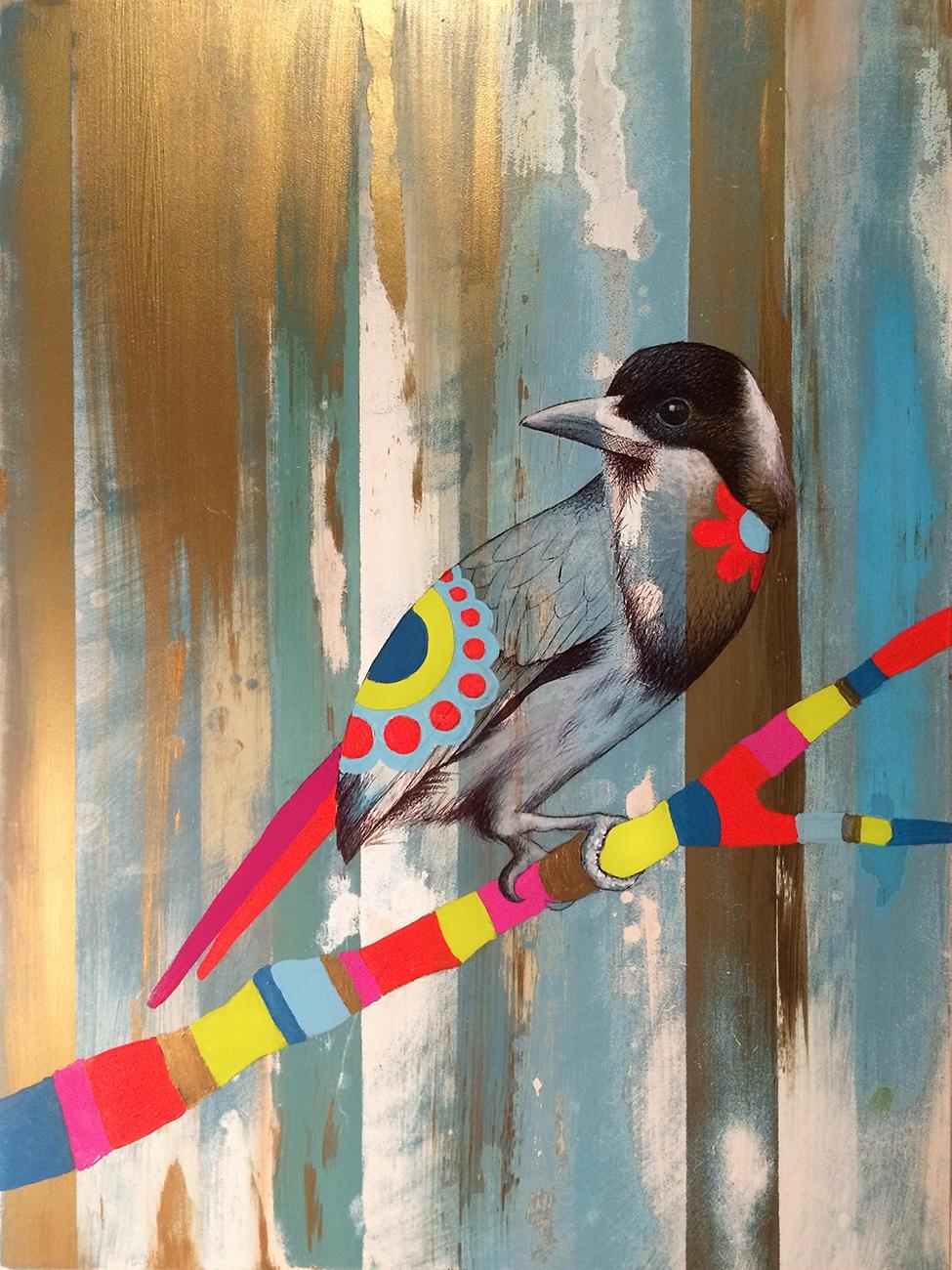 Bird Study #8 by Ramona Nordal