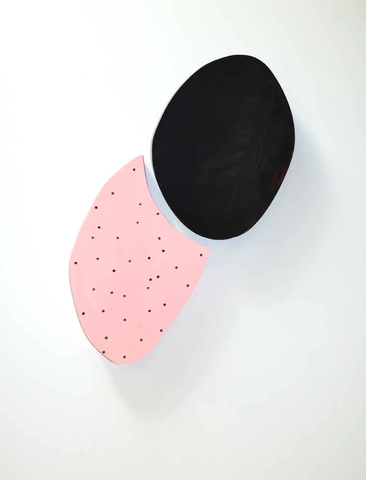 Pink and Black Form  by Erin  Vincent