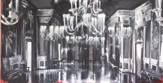 Salon in Palazzo Pisani Moretta  by Hanna Ruminski
