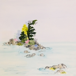 Rundi Phelan - Island with Wild Roses
