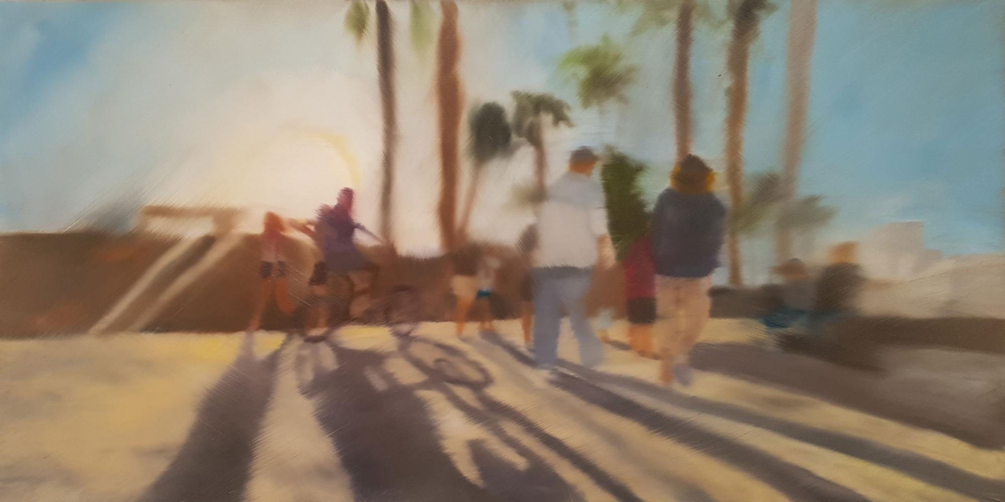 Santa Monica Boardwalk #3 by Shannon  Dickie