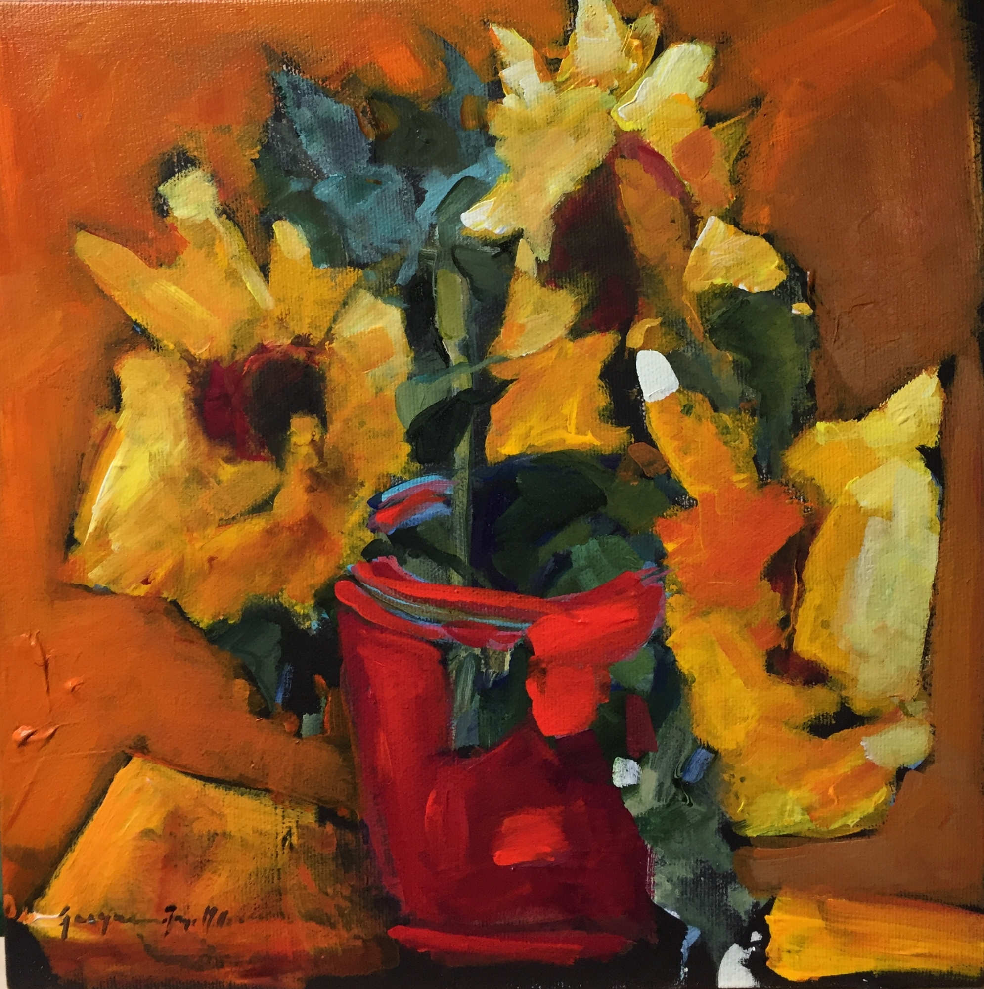 Good Morning Sunshine  by Jackie  Miller