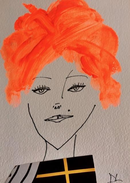 Ultra Orange  by Diane Lingenfelter