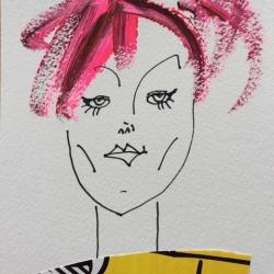 Diane Lingenfelter - Powder Pink