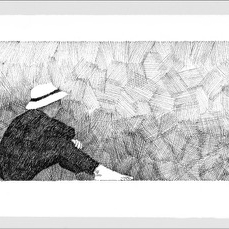 J. Joel - Ruminate- After Georges Seurat