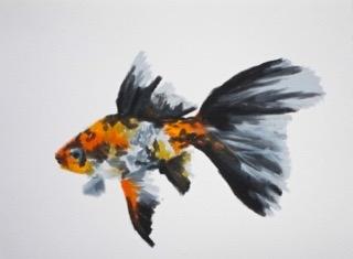 Goldfish 4 by Agnieszka Foltyn