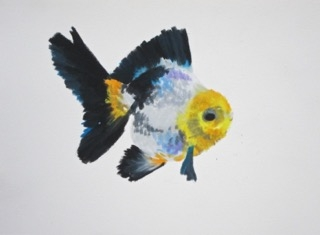 Goldfish 6 by Agnieszka Foltyn