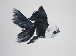 Goldfish 15 by Agnieszka Foltyn