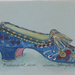 Susan Fothergill - Embroidered Shoe