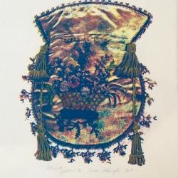 Susan Fothergill - Reticule- Yellow II