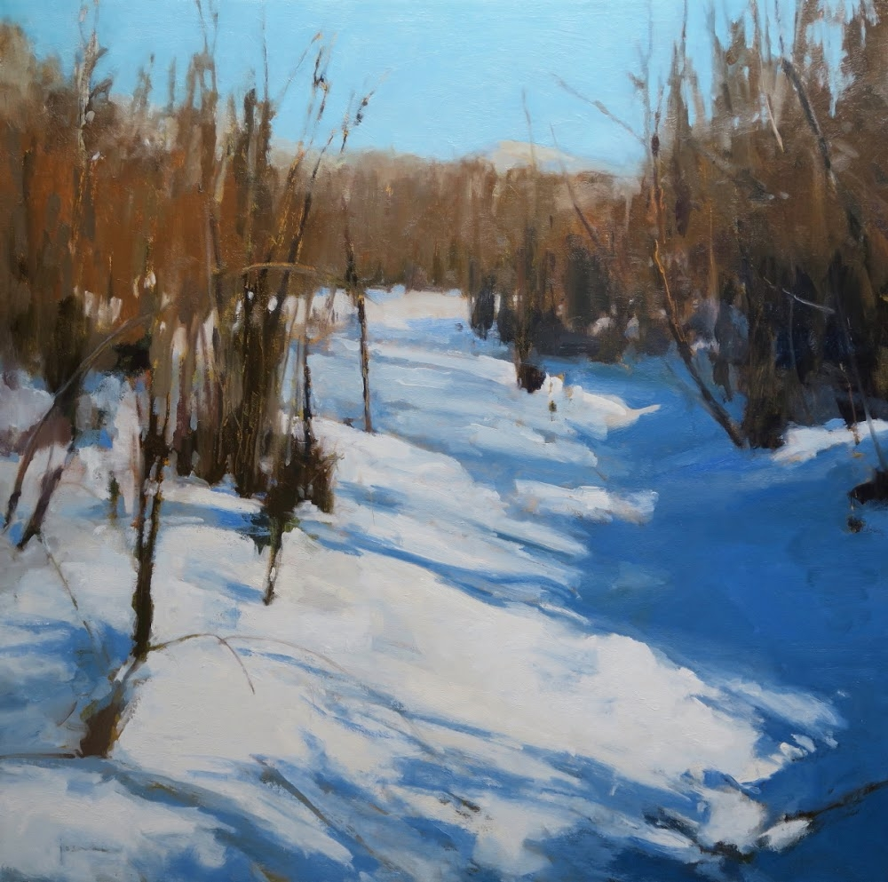 Winter's Blues by Maria  Josenhans