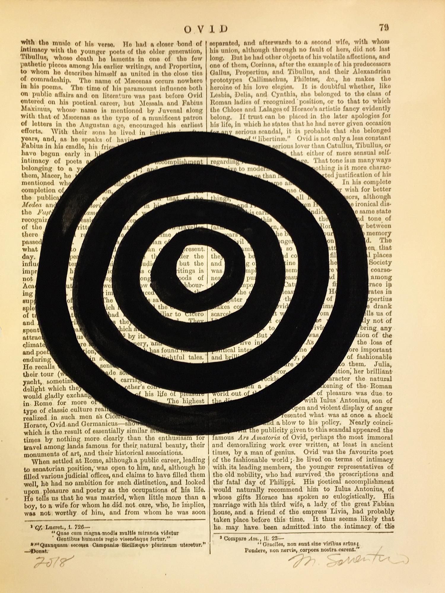 Ovid Black 79  by Michela Sorrentino