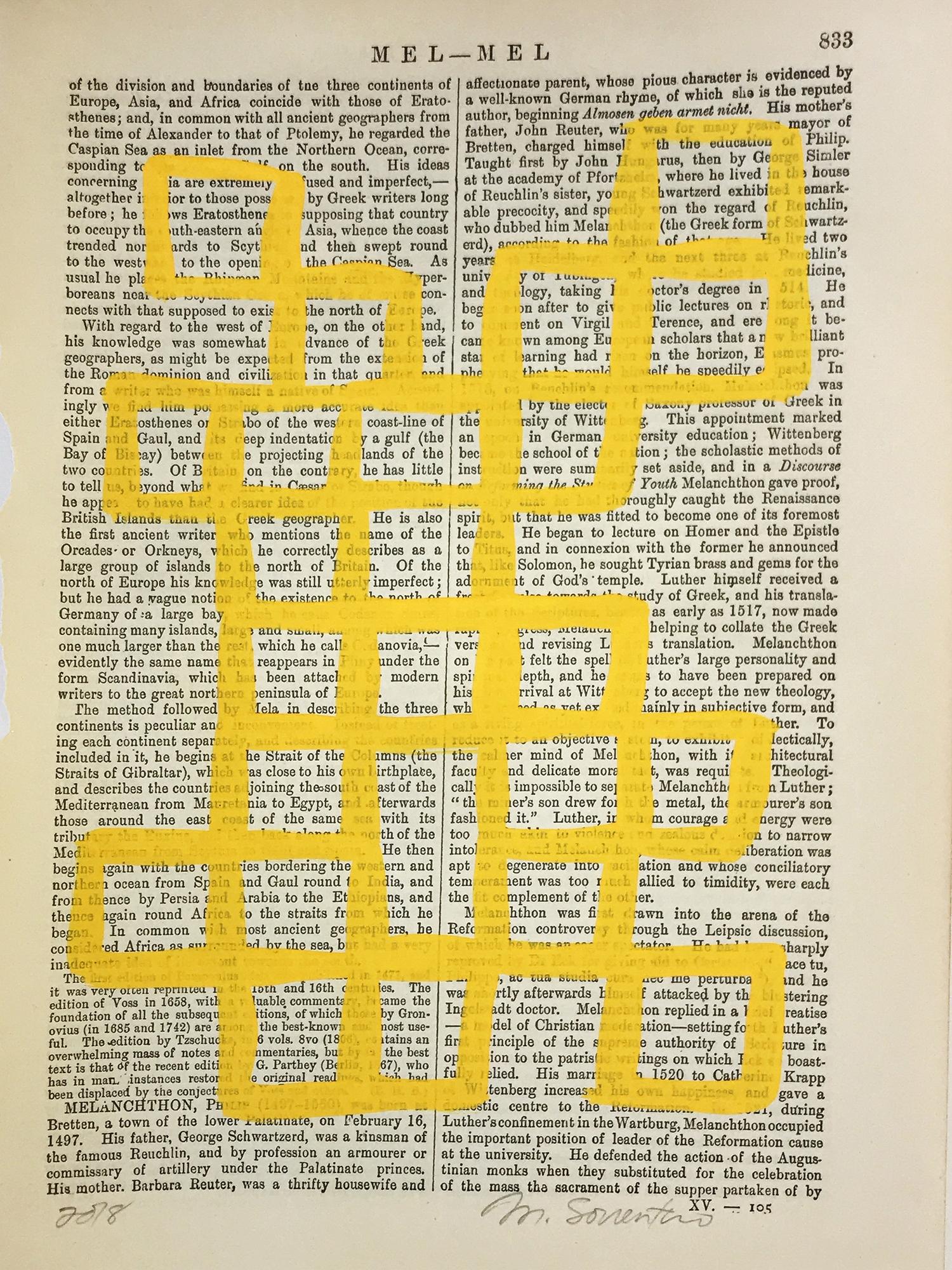 Mel-Mel Yellow 833 by Michela Sorrentino