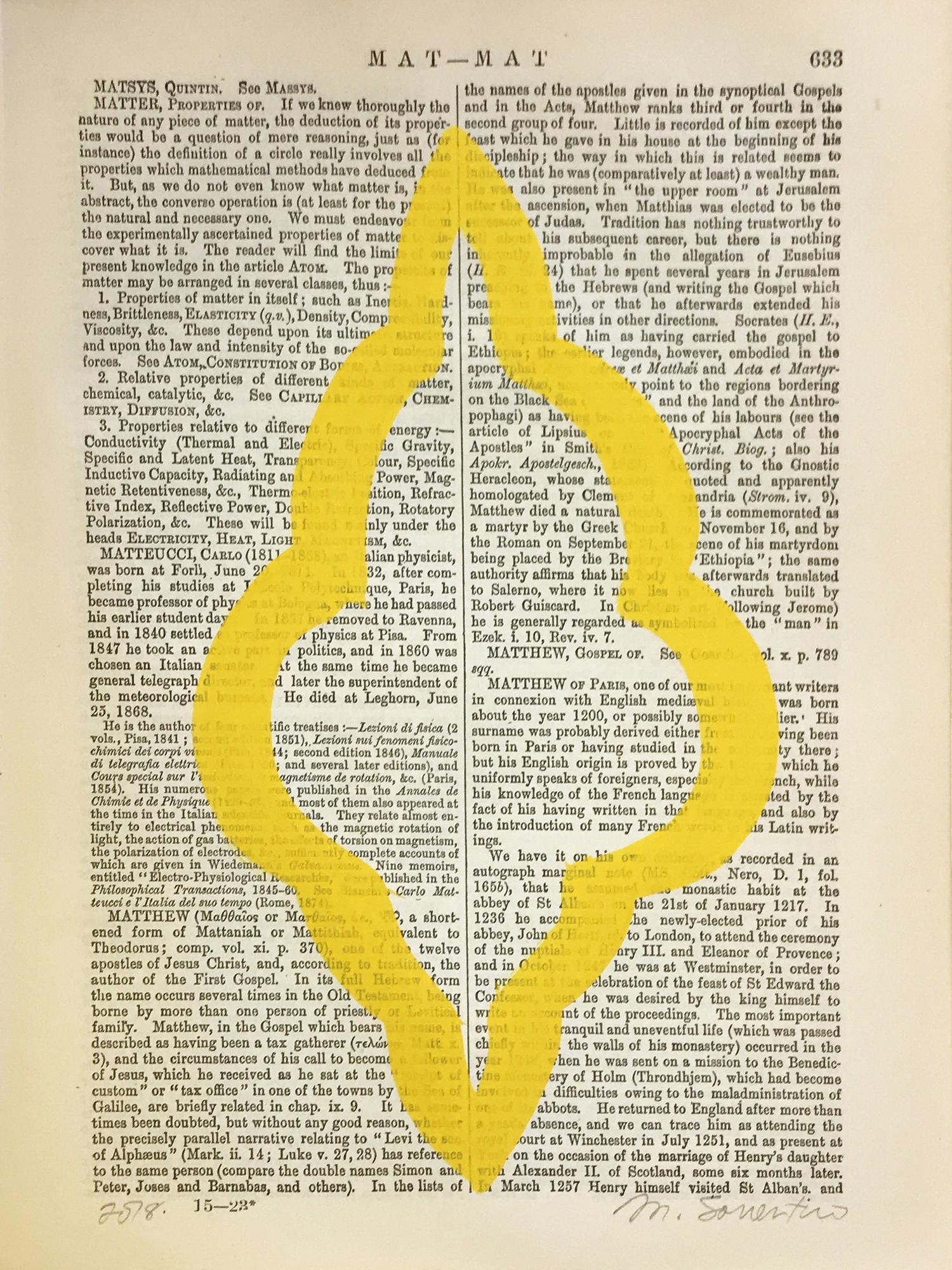 Mat-Mat Yellow 633 by Michela Sorrentino